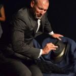 Fotografia scattata durante uno spettacolo teatrale