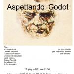Locandina aspettando Godot