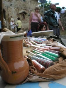 Rievocazione storica di vecchi mercanti di piazza