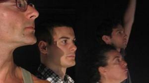 Fotografia scattata durante gli spettacoli di riproduzione