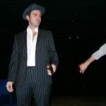 Fotografia scattata durante uno spettacolo teatrale.