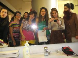Fotografia scattata durante il corso di teatro